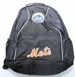 New York Mets Backpack, Embroidered Logos